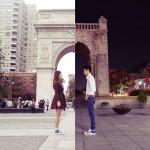 韓国人アーティストカップルの素敵な遠距離恋愛写真