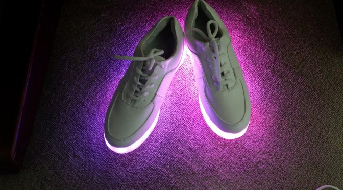 LEDスニーカー4