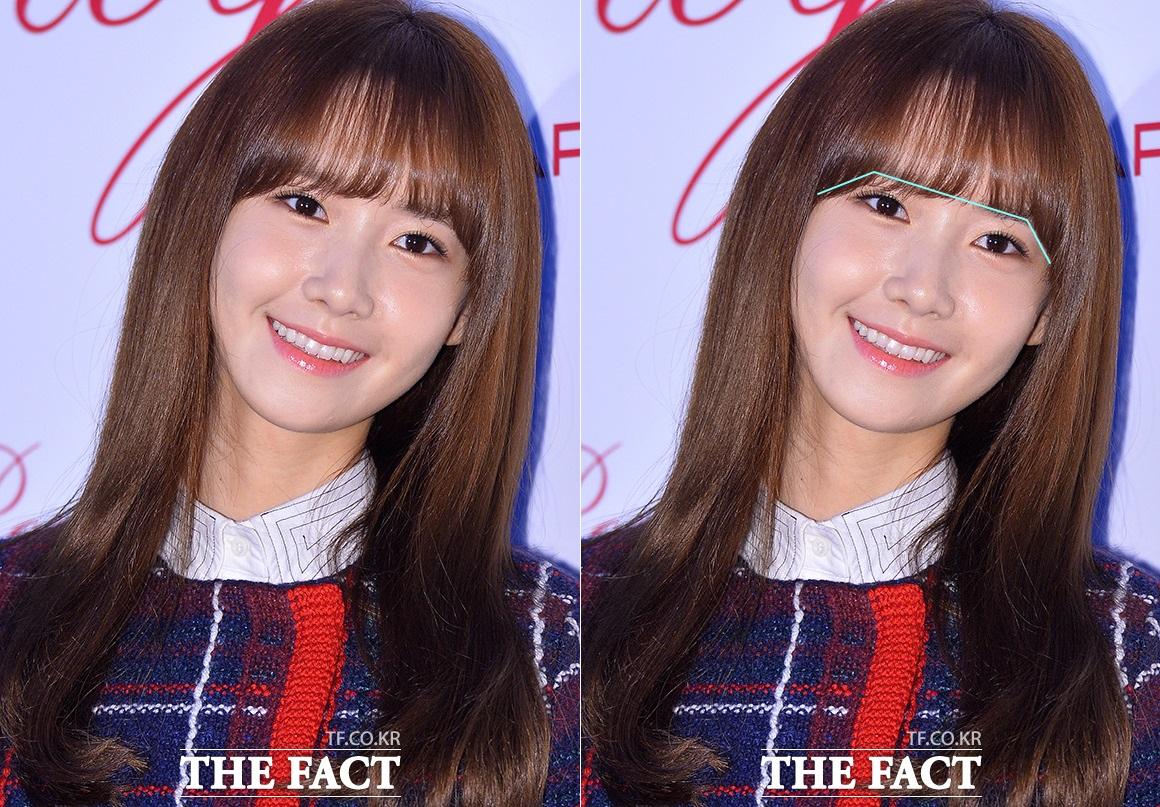 韓国人 美女画像 K-POP ユナ-シースルー前髪
