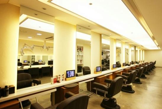 韓国の有名な美容院