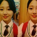 f(x)ソルリにそっくりだと韓国で話題の女子高生のウンジェちゃんが超かわいい!