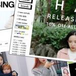 人気の韓国ファッション通販リスト【10選】
